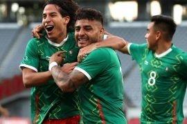 Messico che vince la medaglia di bronzo alle Olimpiadi di Calcio 2021