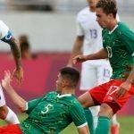Messico che gioca nella semifinalina delle Olimpiadi 2021