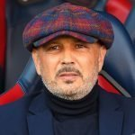 Mihajlovic allenatore del Bologna che gioca contro il Verona il 13 settembre
