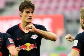 Schick che partecipa alle partite di Bundesliga