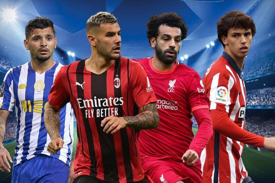 Champions League partite 15 settembre