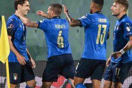 Chiesa che segna nel pareggio Italia Bulgaria per le qualificazioni al Mondiale 2022 Qatar