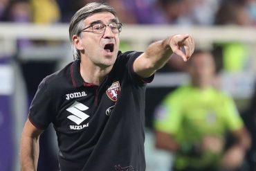 Juric allenatore del Torino in Venezia Torino del 27 settembre