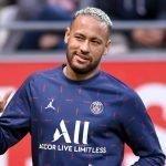 Neymar con il psg che gioca nella quinta giornata di Ligue1