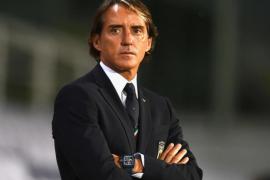 Mancini fa un'intervista sui rigori contro la Spagna